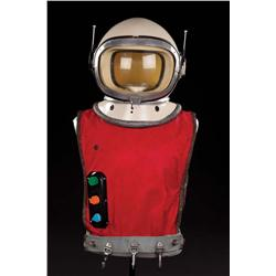 "Guy Williams ""Prof. John Robinson"" space suit and helmet from pilot episode of Lost in Space"