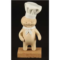 Pillsbury Dough Boy hero animatable puppet, screen-used foods and casting of Dough Boy puppet