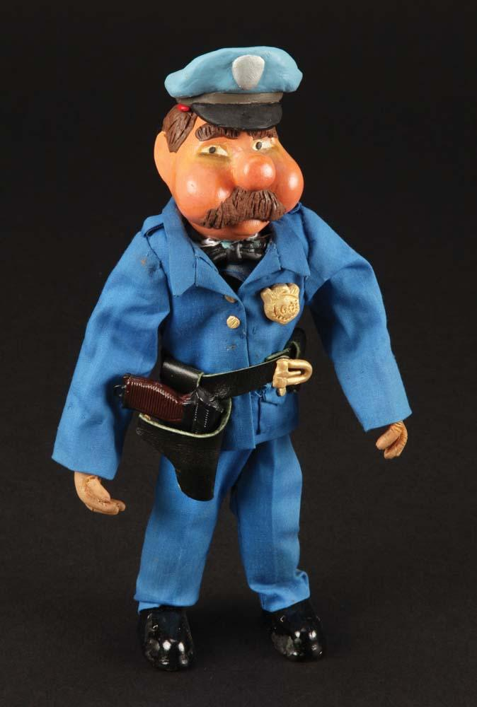 Wc Fields Policeman Puppet From Gumby Adventures