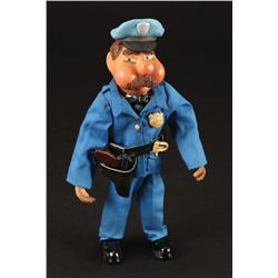W.C. Fields policeman puppet from Gumby Adventures