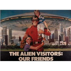 """Visitor"" large-format propaganda poster from the mini-series V: The Final Battle"
