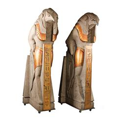 Pair of Horus statues from Stargate–SG1