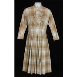 "Elisabeth Moss ""Peggy Olson"" signature plaid dress from Mad Men"