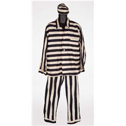"Period-style ""Keystone Cop"" and striped convict costumes from unspecified MGM production(s)"