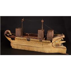 "Richard Burton ""Mark Antony's"" flagship filming miniature from Cleopatra"
