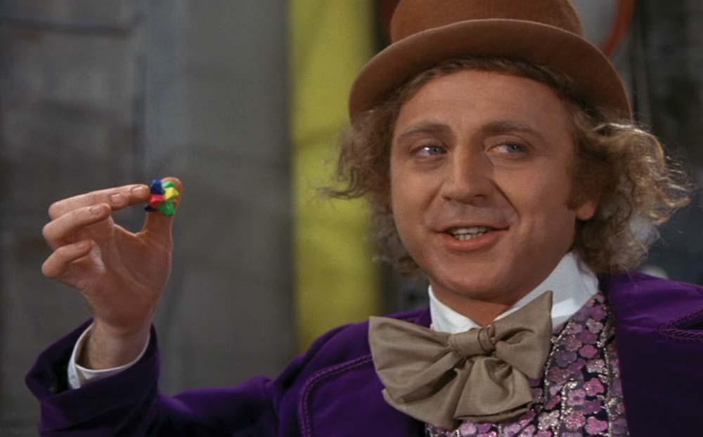 Roald Dahl Willy Wonka And The Chocolate Factory Movie