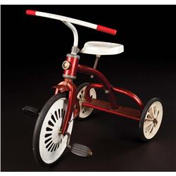 """Original Harvey Stephens """"Damien"""" tricycle from The Omen"""