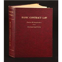 Prop Basic Contract Law book from The Paper Chase