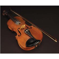 """Sheb Wooley """"Travis Cobb"""" original violin from The Outlaw Josie Wales with LOA by Mrs. Sheb Wooley"""