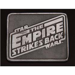 Star Wars: Episode V- The Empire Strikes Back double-sided cast pewter paperweight special crew gift