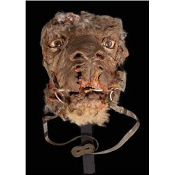 Animatronic Tauntaun head from Star Wars: Episode V-The Empire Strikes Back