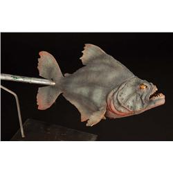 Phil Tippett cable-controlled hero piranha puppet from Piranha
