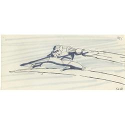Collection of storyboards from Tron