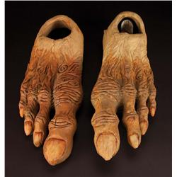 Screen-used Mystics feet from The Dark Crystal