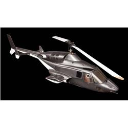 Airwolf screen-used helicopter filming miniature