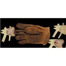 Freddy Krueger glove template from A Nightmare on Elm Street: The Dream Child