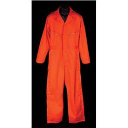 Zorin orange coveralls from A View to a Kill