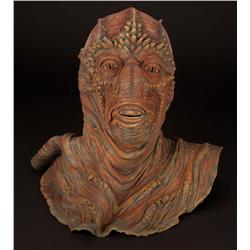 Collection of Drac masks, skull and other appliances from Enemy Mine