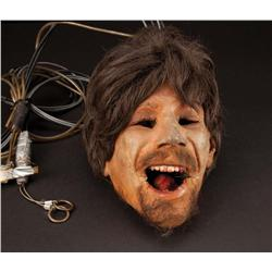 Severed Taso soldier animatronic head from Day of the Dead