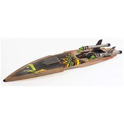 Futuristic surfboard from Back to the Future Part II