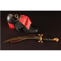 Hero knife and shoe from Hook
