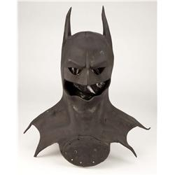 Michael Keaton screen-used Batcowl from Batman
