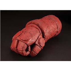 The Right Hand of Doom prop stone arm from Hellboy
