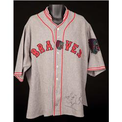 "John Goodman ""Babe Ruth"" signed screen-worn jersey from The Babe"