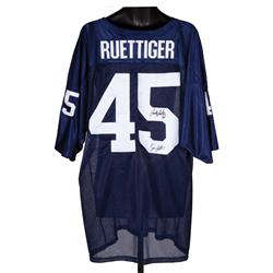 """Rudy"" football jersey signed by Sean Astin and Daniel E. ""Rudy"" Ruettiger"