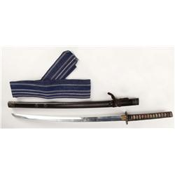 "Tom Cruise ""Nathan Algren"" katana sword and belt from The Last Samurai"
