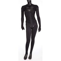 """Æon Flux"" signature black costume from Æon Flux"