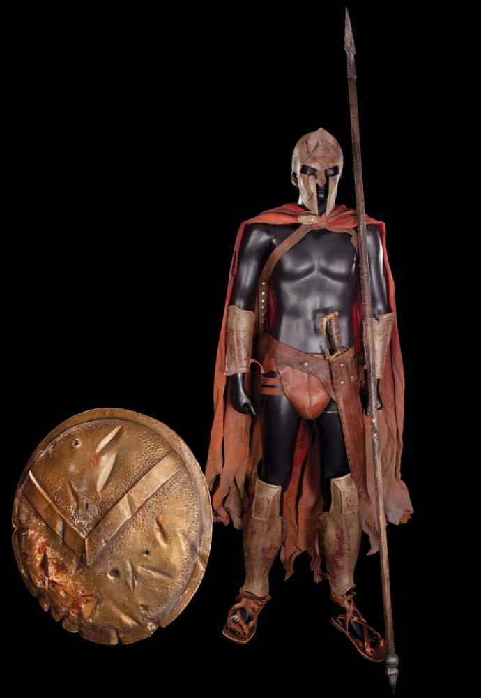 Complete Spartan costume from 300. Loading zoom & Complete Spartan costume from 300