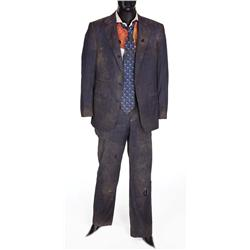 "Robert Downey, Jr. ""Tony Stark"" distressed suit from Iron Man"