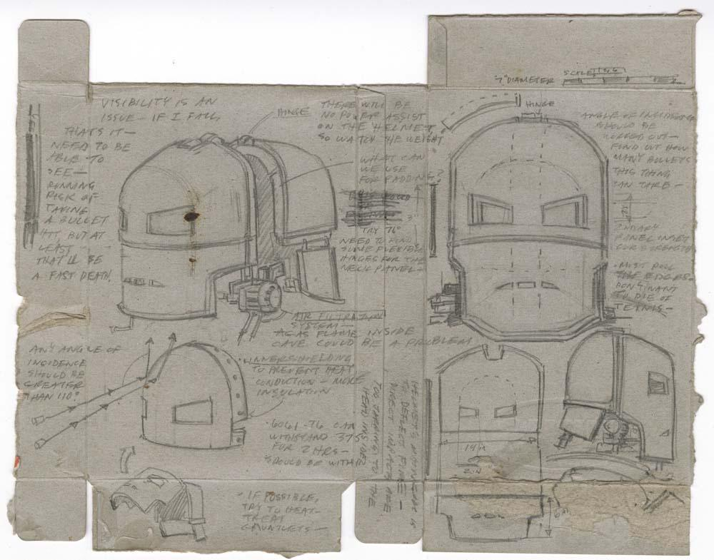 Hero Schematics Of The Mark I Helmet And Suit Designs From Iron Manrhicollector: Iron Man Schematics At Gmaili.net