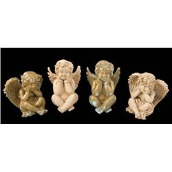 Collection of Cherub statues from Angels & Demons
