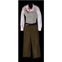 "Pair of ""Evelyn Salt"" stunt costumes from Salt"