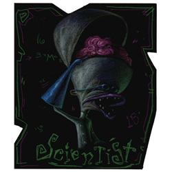 Dr. Finklestein concept artwork from The Nightmare Before Christmas