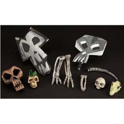 Oogie Boogie lair skulls and bones from The Nightmare Before Christmas