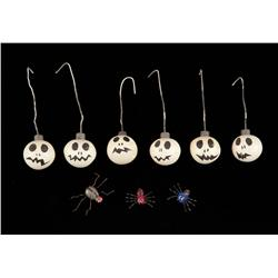 Jack's Christmas ornaments from The Nightmare Before Christmas