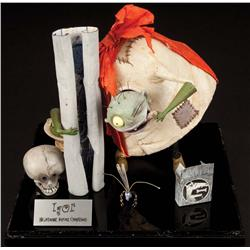 The Nightmare Before Christmas screen-used Igor puppet, Sally's soup bowl & other screen-used props
