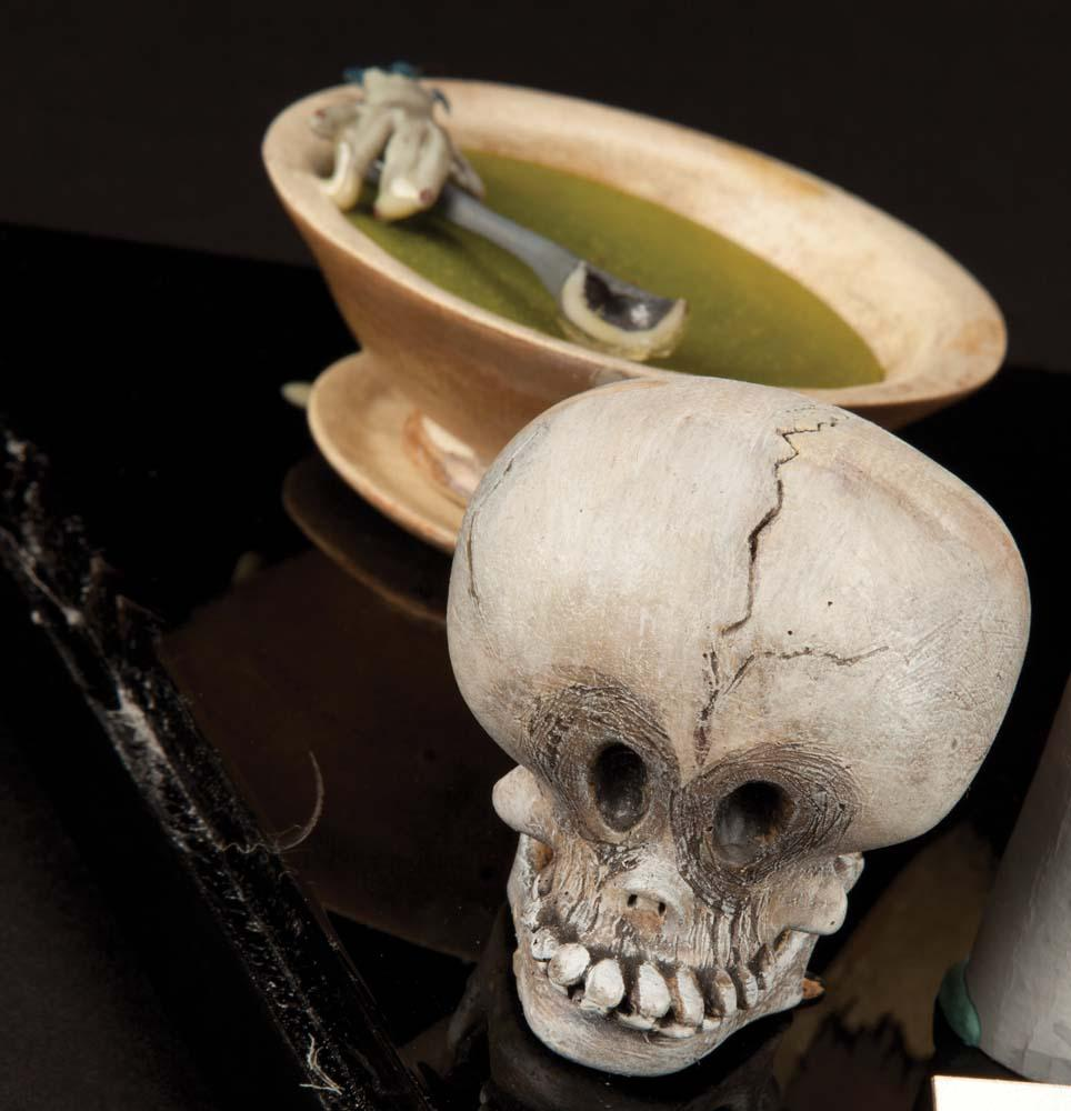 The Nightmare Before Christmas screen-used Igor puppet, Sally\'s soup ...