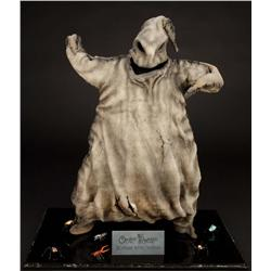 Screen-used puppeteered Oogie Boogie skin from The Nightmare Before Christmas