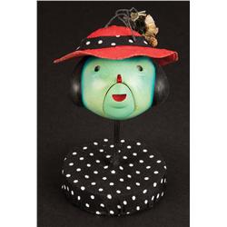 Set of Ladybug mouths and screen-used head with hat from James and the Giant Peach
