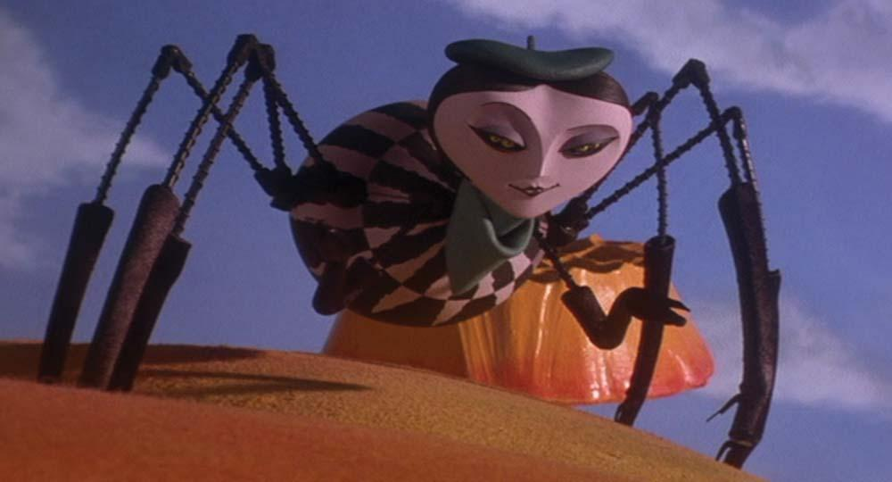 Miss Spider puppet head James and the Giant Peach