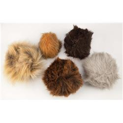 "Assortment of Tribbles from Star Trek: Deep Space Nine episode, ""Trials and Tribble-ations"""