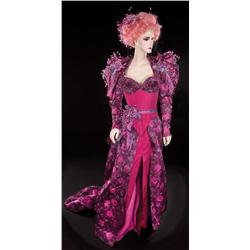 "Majel Barrett ""Lwaxana Troi"" costume from Star Trek: Deep Space Nine"
