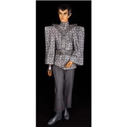 Romulan female costume from Star Trek: The Next Generation and Deep Space Nine