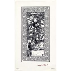 Barry Windsor-Smith Fantastic Island signed by Barry Smith & signed limited Hellboy prnt nm 1/125