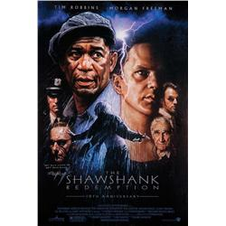 The Shawshank Redemption one-sheet poster signed by Frank Darabont