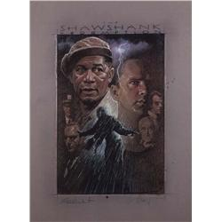 Original poster artwork for The Shawshank Redemption